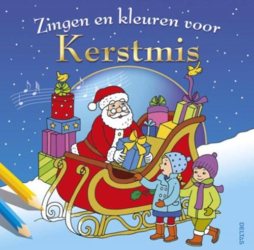 Deltas Zingen en kleuren voor Kerstmis