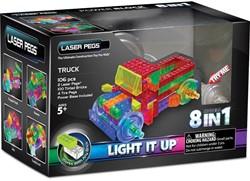 Laser Pegs  Constructie speelgoed - Vrachtwagen 8 in 1