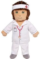 Beleduc  handpop kate de verpleegster