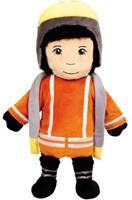 Beleduc  handpop pilar de brandweervrouw
