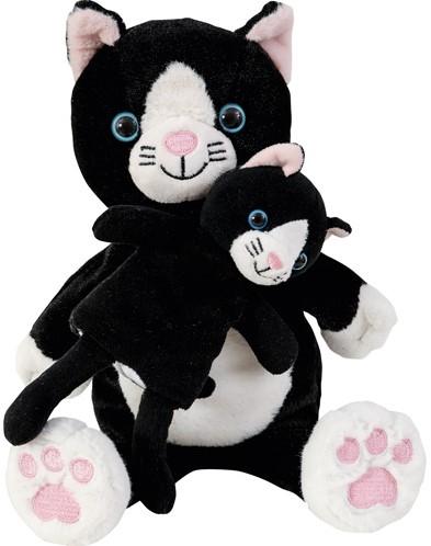 Beleduc  Moeder en kind handschoen Kat