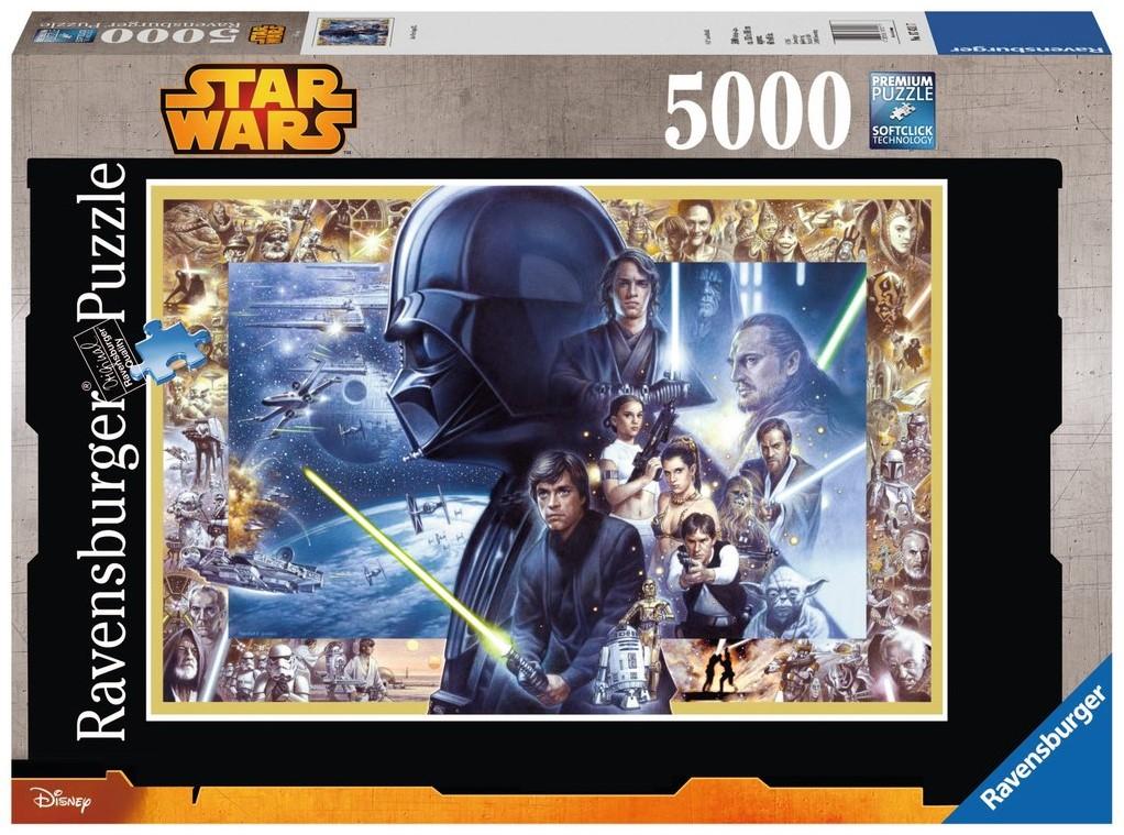 Ravensburger Puzzel Star Wars Saga Xxl Legpuzzel 5000 Stukjes