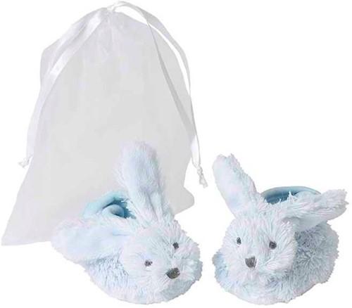 Happy Horse babyslofjes Blauw Konijn Richie  - 10 cm