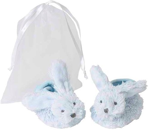 Happy Horse Blue Rabbit Richie Slippers in organza bag