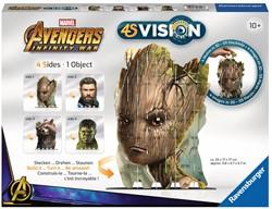 Ravensburger 4S Vision Avengers Infinity War Groot & Co