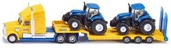 Siku 1:87 Zwaartransport met 2 New Holland tractoren 1805