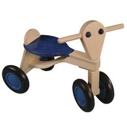 Van dijk toys houten loopfiets Blauw - berken