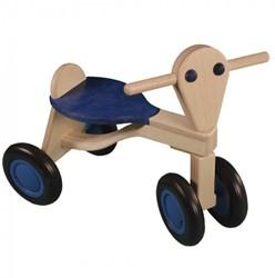Van Dijk Toys houten loopfiets Blauw - beuken
