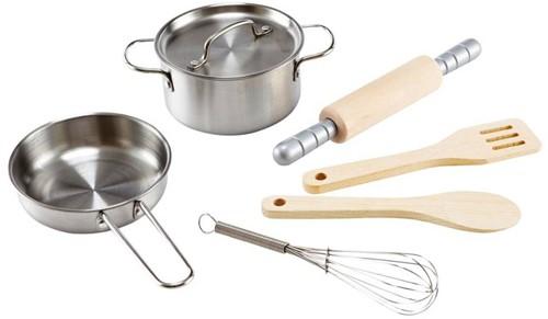 Hape keuken accessoires Chef's cooking set