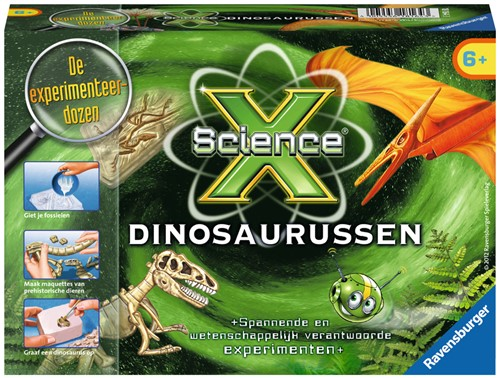 Ravensburger ScienceX® Dinosaurussen