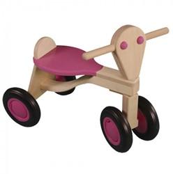 Van Dijk Toys  houten loopfiets Roze