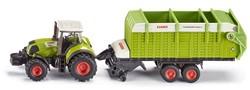 Siku 1:87 Tractor met hooiopraapwagen 1846