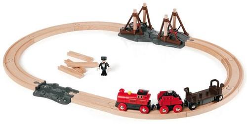 Brio  houten trein Stoomtreinset 33030-1