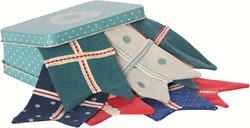 Maileg Flag Garland in Suitcase