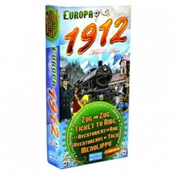 Days of Wonder  bordspel Ticket to Ride - Europe 1912