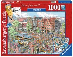 Ravensburger puzzel Fleroux Amsterdam - Legpuzzel - 1000 stukjes