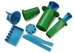 Waba Fun  zandspeelgoed Kasteelvormen groen blauw