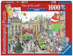 Ravensburger puzzel Fleroux London - Legpuzzel - 1000 stukjes