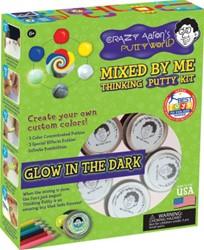 Crazy Aaron's putty cadeauverpakking - Glow Mixed Kit