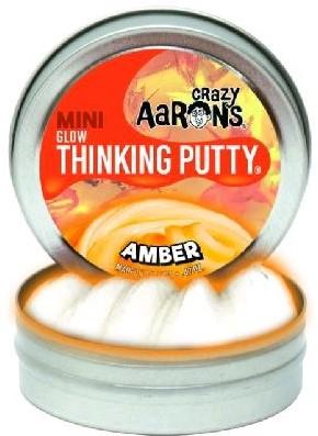 Crazy Aaron's putty Amber