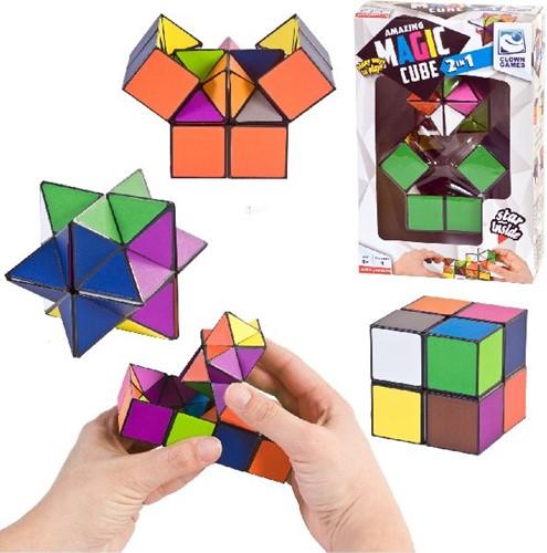 Clown Magic Cube 2-in-1