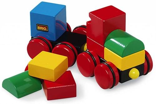 BRIO speelgoed Magnetische stapeltrein
