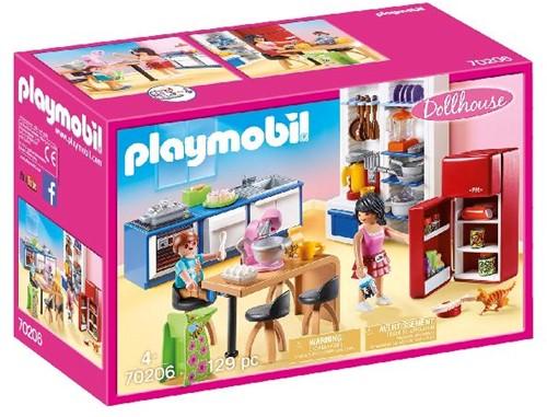 Playmobil Dollhouse - Leefkeuken 70206