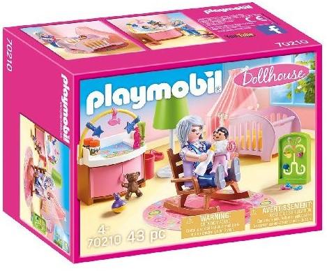 Playmobil Dollhouse - Babykamer 70210