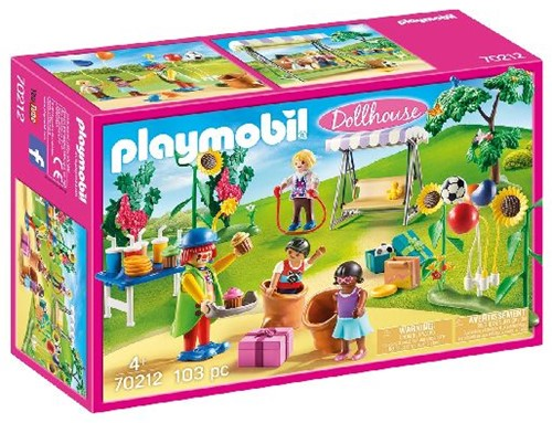 Playmobil Dollhouse - Kinderfeestje met clown 70212