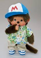 Monchhichi  knuffelpop kleren Boutique A Print Shirt & Baseball Cap-3