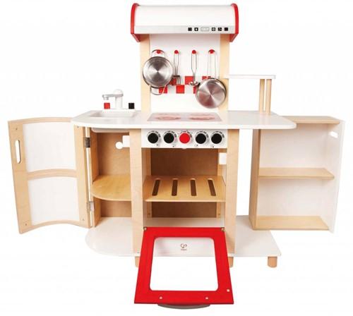 Hape houten keukentje Multi functioneel E8018-2