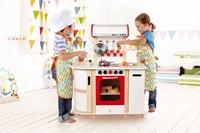 Hape houten keukentje Multi functioneel E8018-3