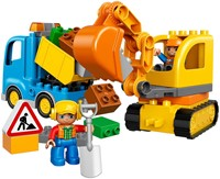 LEGO DUPLO Rupsband-graafmachine 10812-2