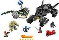 LEGO Super Heroes set Batman Killer Croc Rioolravage 76055-3