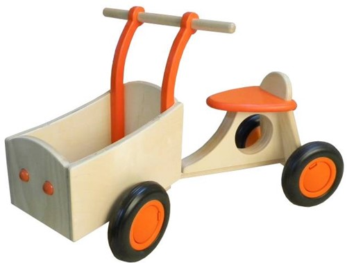 Van Dijk Toys Bakfiets, oranje