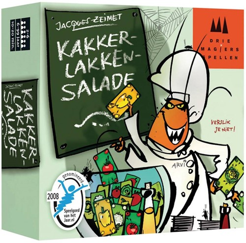 999 Games  kaartspel Kakkerlakken salade-1
