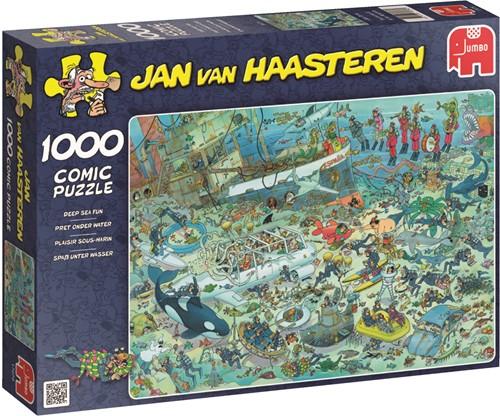 Jumbo puzzel Jan van Haasteren Onderwater Wereld - 1000 stukjes