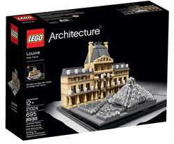 Lego  Architecture set Louvre 21024