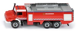 Siku  miniatuur speelvoertuig Mercedes Zetros brandweer auto 2109