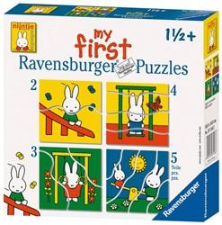 Ravensburger legpuzzel Nijntje - 2 tot 5 stukjes