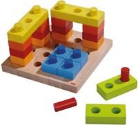 Haba  houten vormenpuzzel Kleurenpret 2188-1
