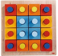 Haba  houten vormenpuzzel Kleurenpret 2188-3