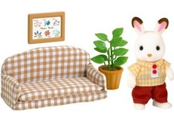 Sylvanian Families  combinatieset Chocolate Rabbit Father Set 2201