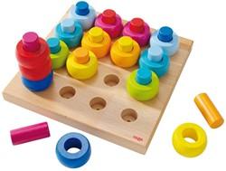 Haba houten vormenpuzzel Kleurenringen 2202
