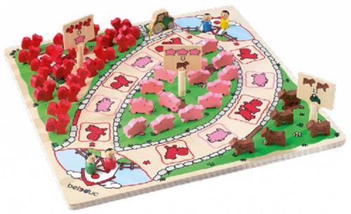 Beleduc  houten kinderspel Happy farm-1