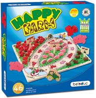 Beleduc  houten kinderspel Happy farm