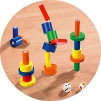 Beleduc  houten kinderspel Torreta-1