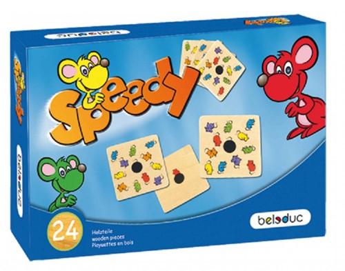Beleduc  houten kinderspel Speedy-1