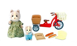 Sylvanian Families combinatieset Cycling with Mother 2236