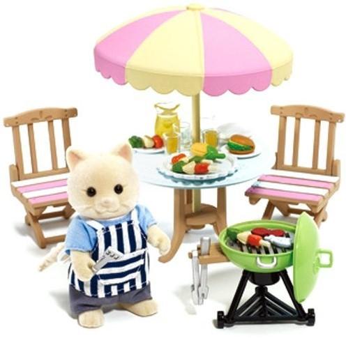 Sylvanian Families accessoires Garden Barbecue Set 2239